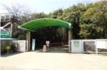 昆陽池公園ふるさと小径入口の写真